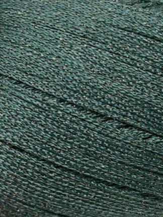 Abbildung des Garns Gatsby in Jadegrün mit Silberfaden